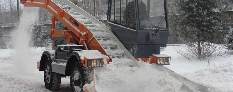 Снегоуборочные транспортеры конвейер ленточный самоходный